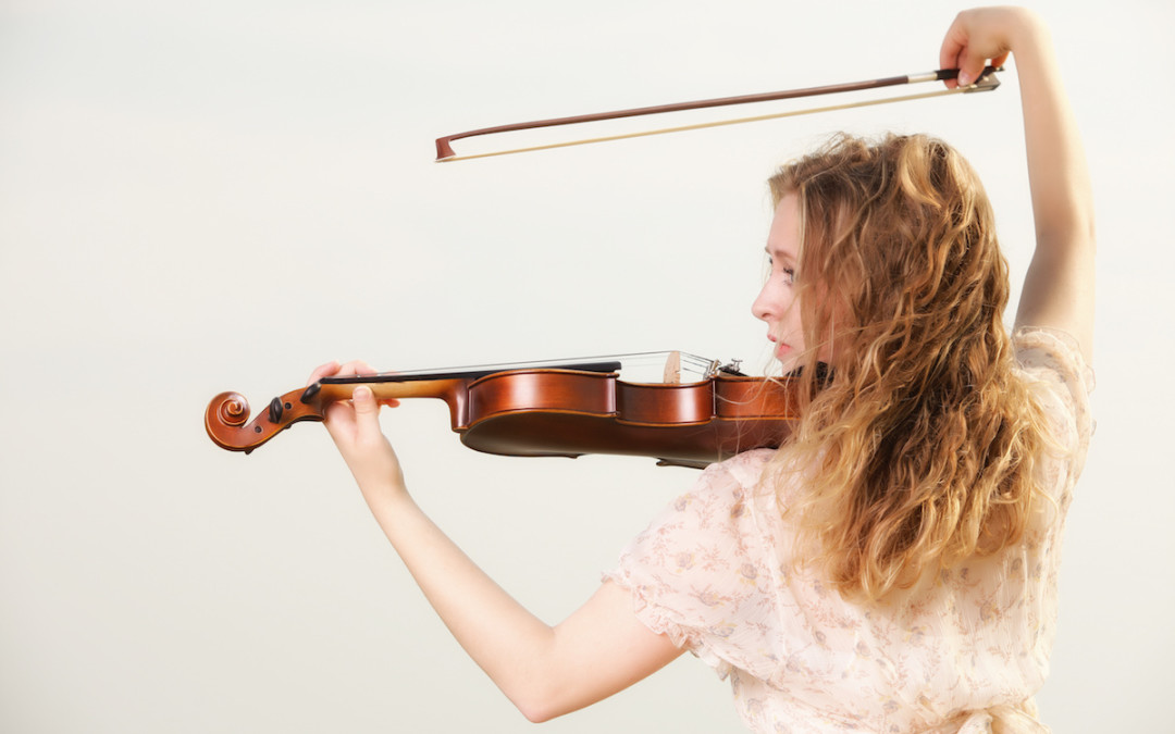 The Perfectionist and her Violin