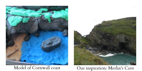 Cornwall collage