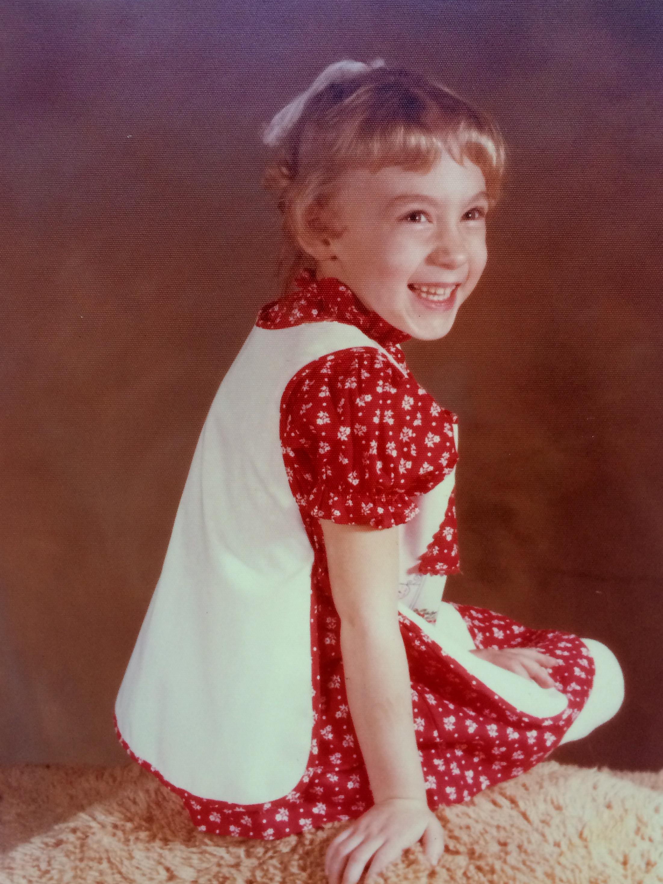 Jen Gresham - Yes, that's actually me in preschool.