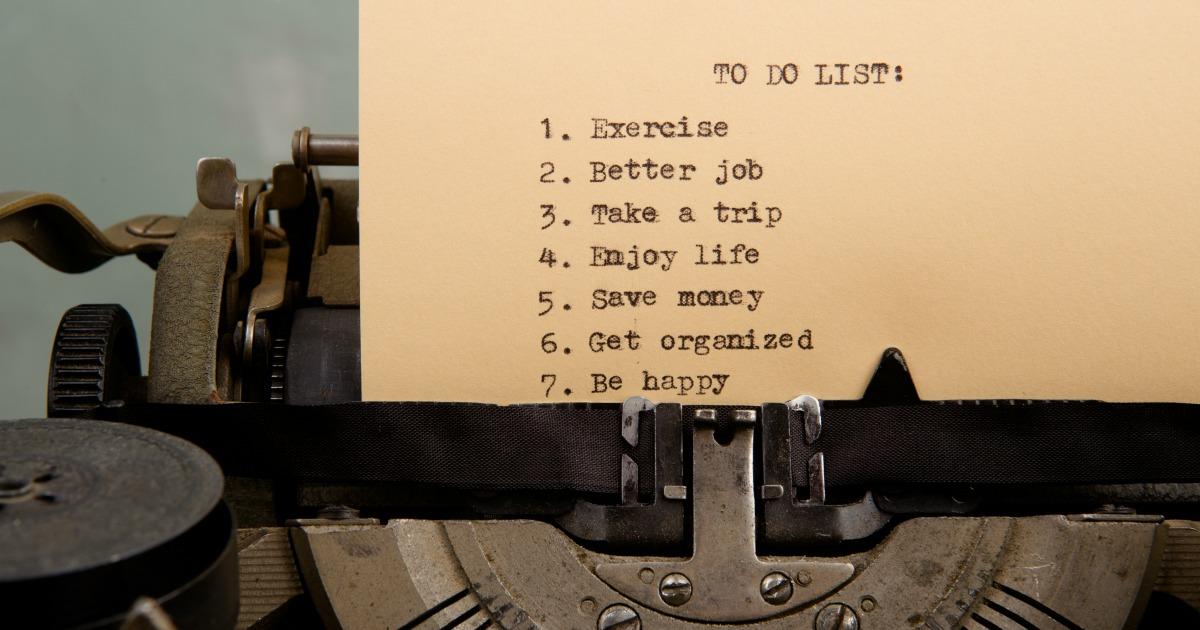 The Freaking Never Ending To-Do List